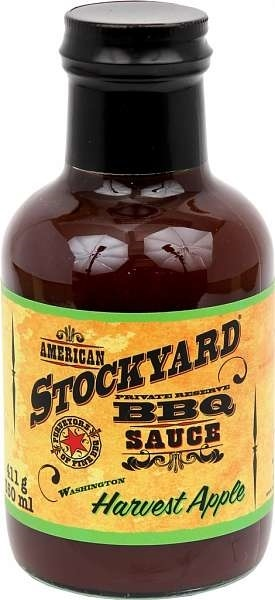 STOCKYARD Harvest Apple BBQ Sauce 350 ml