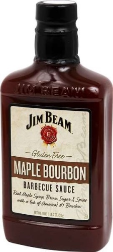 Jim Beam Maple Bourbon BBQ Sauce 510g